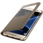Galaxy S7 EDGE S-View flip cover - goud