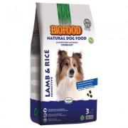 Biofood Lam & Rijst Sensitive Hondenvoer - Dubbelpak: 2 x 12,5 kg