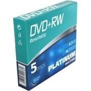 PTM 100161 - DVD+RW 4,7 GB, 5-Pack SlimCase