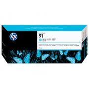 HP Tinteiro (C9470A) Nº91 Azul Claro com Tinta Vivera