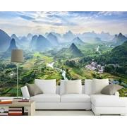 MIWEI Wallpaper Papel Pintado 3D Paisaje De Montaña Pico De La Montaña Fotomural Moderno Papel Tapiz Custom Wallpaper Mural