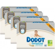 Dodot Fraldas Dodot Sensitive T3 160 uds