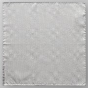 Eton Pochet Shimmering Pocket Square Zilver / male
