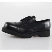 cipő NEVERMIND - 3 lyukú - Black Polido - 10103S