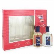 Canoe For Men By Dana Gift Set - 2 Oz Eau De Toilette Spray + 2 Oz After Shave --