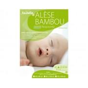 KADOLIS Pack x2 Alèses en Bambou pour Lit 60 x 120 cm