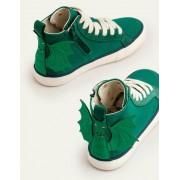 Mini Grün Hochgeschnittene Schuhe Jungen Boden, 24, Green