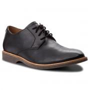 Обувки CLARKS - Atticus Lace 261361557 Black Leather