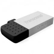 Флаш памет Transcend 16GB JetFlash 380, Silver Plating - TS16GJF380S
