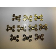 Lego lot of 10 Gold Coins 10 20 30 40 on sprue