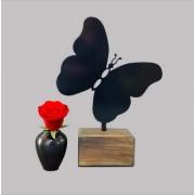 Mini Urn Vlinder Zwart of Wit (0.015 liter)