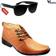 Vitoria Stylish Boot for men With Free Fashionable Unisex Sunglasses Combo