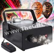 Masina de facut fum, cu laser rosu incorporat