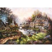 Puzzle Ravensburger - Revarsatul Zorilor, 1.000 piese (15944)
