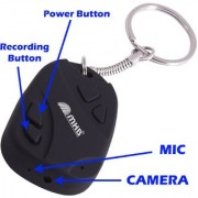 M MHB Now Spy Keychain Camera while recording No light Flashes.32GB Memory Supportable .HD Sound Quality . Audio / Video Recording