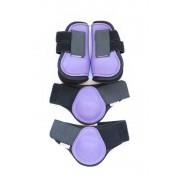 HB Peesbeschermerset Shetland - purple - Size: SHET
