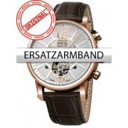 Curea de ceas Perigaum Leder P-1111 braun rose Schliesse 24 mm