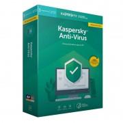 Kaspersky Anti-Virus 2020 3 Dispositivos 1 Ano Renovação