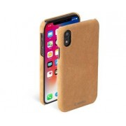 Krusell Broby Cover Cognac iPhone XR