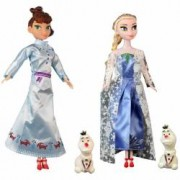 Set Frozen Anna Elsa si Olaf - Regatul de Gheata