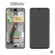 Display LCD e Touch preto para Samsung Galaxy S20 SM-G980F