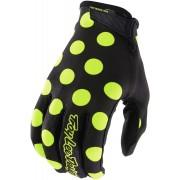 Troy Lee Designs Air Polka Jugend Handschuhe Schwarz Gelb 2XL
