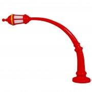 Seletti Street Lamp vloerlamp buiten rood