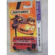 London Bus 2007 Matchbox #56 Double Decker Bus Collectible Collector 1:64 Scale Die Cast Car By Mattel