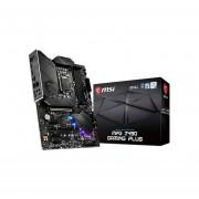 T. Madre MSI MPG Z490 GAMING PLUS, Chipset Intel Z490, Soporta
