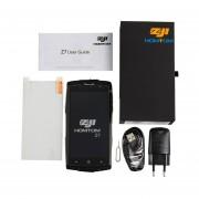 EY ZOJI-Z7 Quad Core Fingerprint 2GB RAM+16GB ROM Impermeable Teléfono Inteligente UE Plug-negro