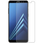 Tempered Glass Screen Protector 0.3mm Thickness (2.5D Curve) Scratch Resistant for Samsung Galaxy A8 Plus 2018 / Samsung A8+ (2018)