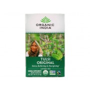 Organic India Tulsi Holy Basil Tea Original Caffeine-Free 25 Infusion Bags (32 Gram) - Organic India