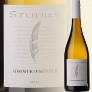 Weingut Studier, Ellerstadt, Pfalz Sommersemester Weißweincuvée trocken