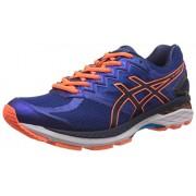 Asics Men's Gt-2000 New York 4 Deep Blue and Navy Running Shoes - 9 UK/India (44 EU) (10 US)
