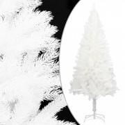 Pom de Crăciun artificial cu suport, alb, 120 cm, PE