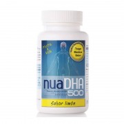 Nua Biological Innovations NUA Dha 500 (Sabor Limón) 30 cápsulas.