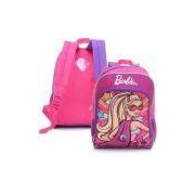 Mochila De Costas Infantil Sestini Super Princesa G 16y Pink Barbie