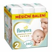 Pampers dječje pelene Premium Care 2 (Mini), 240 komada