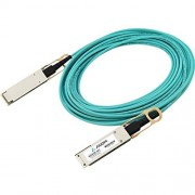 Axiom JNP-40G-AOC-2M-AX Cable de Fibra óptica (2 m, QSFP+, QSFP+, Azul)