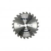 Disc circular 24 dinti 235x25.5x2 mm Yato Yt-60668