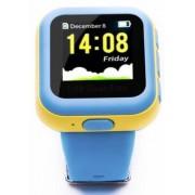 "Smartwatch E-Boda Kids 5949023218250, Ecran 1.3"", GPS, SIM, Wi-Fi, monitorizare copii (Albastru/Galben)"