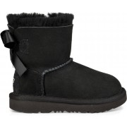UGG Mini Bailey Bow II Toddler Boots, Black 28