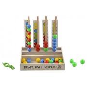 Skillofun Wooden Beads Pattern Box, Multi Color