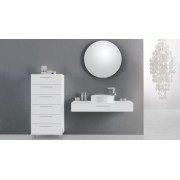 Ensemble de salle de bain simple vasque 120 cm Vecchio