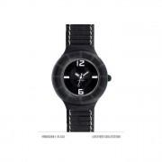 HIP HOP HWU0204 Leather collection nero Donna + cinturino di ricambio