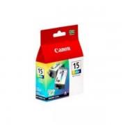 Canon Originale I 70 Cartuccia stampante (BCI-15 C / 8191 A 002) colore Multipack (2 pz.), 100 pagine, 26,17 cent per pagina, Contenuto: 7 ml