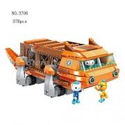 Generic The Octonauts Building Blocks All Set Octo-Pod Octopod Playset Educational Enlighten Bricks Toys for Children 3706