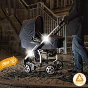 Set 2 piese reflectorizante pentru carucior Diago
