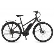 Winora Tria 10 women 500Wh 28'' 10-Sp Deore - 18 Winora BPI black matt - E-Bikes 48