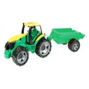 Tractor cu remorca Gigant Lena, 95cm, sustine 100 kg